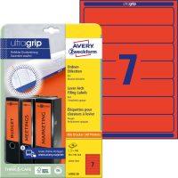 Avery Zweckform L4762-20 iratrendező címke