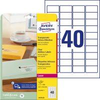 Avery Zweckform L4770-25 öntapadós etikett címke