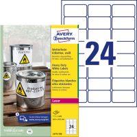Avery Zweckform L4773-100 öntapadós etikett címke