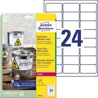 Avery Zweckform L4773-8 öntapadós etikett címke