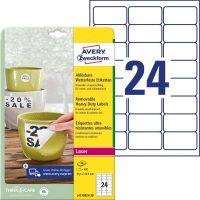 Avery Zweckform L4773REV-20 öntapadós etikett címke