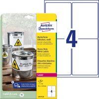 Avery Zweckform L4774-20 öntapadós etikett címke
