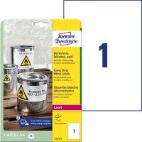 Avery Zweckform L4775-8 öntapadós etikett címke