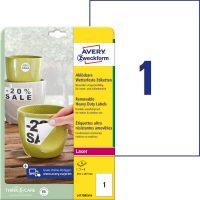 Avery Zweckform L4775REV-8 öntapadós etikett címke