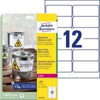 Avery Zweckform L4776-20 öntapadós etikett címke