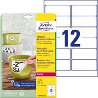 Avery Zweckform L4776REV-20 öntapadós etikett címke