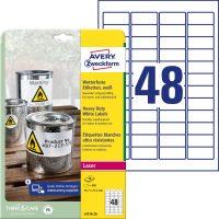 Avery Zweckform L4778-20 öntapadós etikett címke