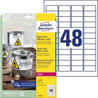 Avery Zweckform L4778-8 öntapadós etikett címke