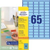 Avery Zweckform L4791-20 öntapadós etikett címke