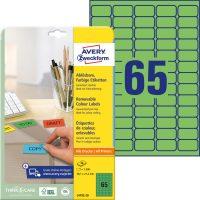 Avery Zweckform L4792-20 öntapadós etikett címke