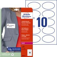 Avery Zweckform L4882-20 textilre ragasztható névcímke