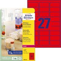 Avery Zweckform L6003-25 öntapadó etikett címke