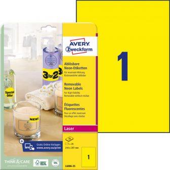 Avery Zweckform L6006-25 öntapadó etikett címke