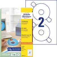 Avery Zweckform L6015-25 öntapadó CD címke