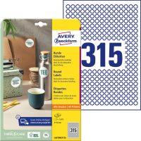 Avery Zweckform L6019REV-25 öntapadó etikett címke