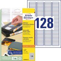 Avery Zweckform L6020REV-25 öntapadó etikett címke