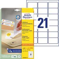 Avery Zweckform L6023REV-25 öntapadós etikett címke