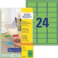 Avery Zweckform L6033-20 öntapadós etikett címke