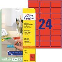 Avery Zweckform L6034-20 öntapadós etikett címke