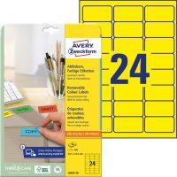 Avery Zweckform L6035-20 öntapadós etikett címke