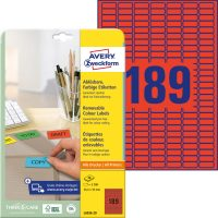 Avery Zweckform L6036-20 öntapadós etikett címke