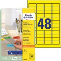 Avery Zweckform L6041-20 öntapadós etikett címke