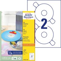 Avery Zweckform L6043-100 öntapadó CD címke