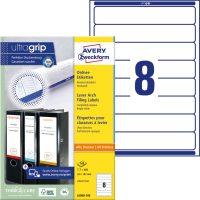 Avery Zweckform L6060-100 nyomtatható öntapadós iratrendező címke