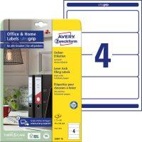 Avery Zweckform L6061-10 nyomtatható öntapadós iratrendező címke