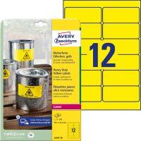 Avery Zweckform L6107-20 öntapadós etikett címke