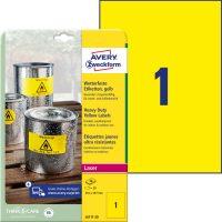 Avery Zweckform L6111-20 öntapadós etikett címke