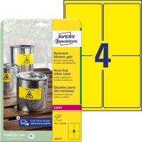 Avery Zweckform L6127-8 öntapadós etikett címke