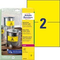 Avery Zweckform L6130-20 öntapadós etikett címke