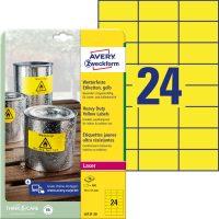 Avery Zweckform L6131-20 öntapadós etikett címke