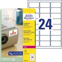 Avery Zweckform L6141-20 öntapadós etikett címke