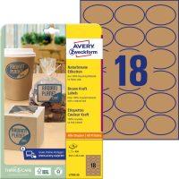 Avery Zweckform L7103-25 nyomtatható öntapadós etikett címke