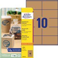 Avery Zweckform L7108-25 nyomtatható öntapadós etikett címke