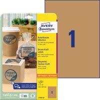 Avery Zweckform L7109-25 nyomtatható öntapadós etikett címke