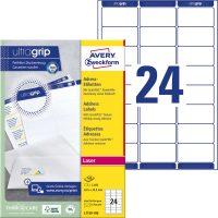 Avery Zweckform L7159-100 öntapadó etikett címke