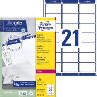 Avery Zweckform L7160-100 öntapadós etikett címke