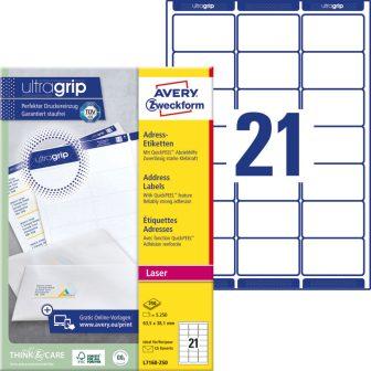 Avery Zweckform L7160-250 öntapadós etikett címke