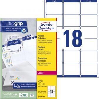 Avery Zweckform L7161-100 öntapadós etikett címke