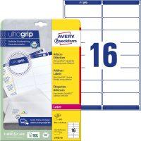 Avery Zweckform L7162-40 öntapadós etikett címke