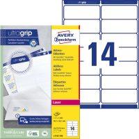 Avery Zweckform L7163-100 öntapadós etikett címke