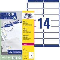 Avery Zweckform L7163-250 öntapadós etikett címke