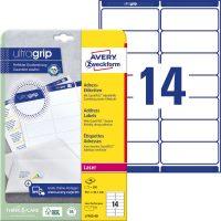 Avery Zweckform L7163-40 öntapadós etikett címke