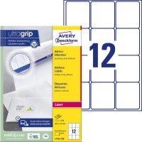 Avery Zweckform L7164-100 öntapadós etikett címke
