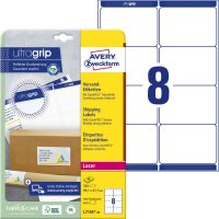 Avery Zweckform L7165-40 öntapadós etikett címke