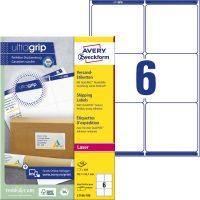 Avery Zweckform L7166-100 öntapadós etikett címke