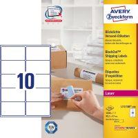 Avery Zweckform L7173B-100 öntapadós etikett címke